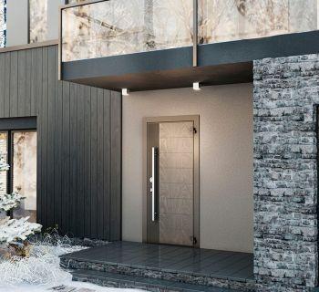 В «Дачном ответе» премьера – алюминиевая дверь Domani от Torex!
