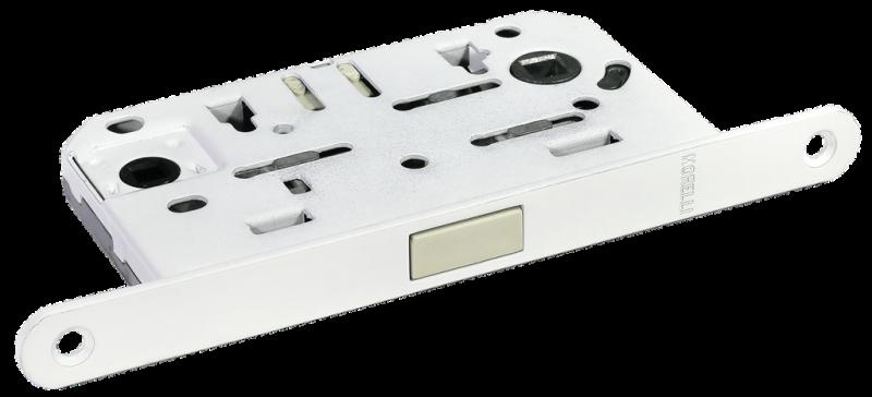 M1895 W защелка магнитная сантехническая, цвет - белый