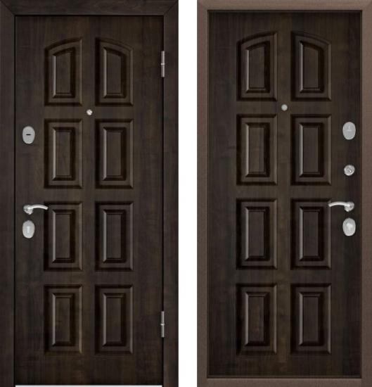 Дверь СТЕЛ-РР(950, 2050, L, КТ Дуб мореный,TST-2,КТ Дуб мореный,TST-2,хром,НАКЛ, НК2,КТ Дуб мореный)